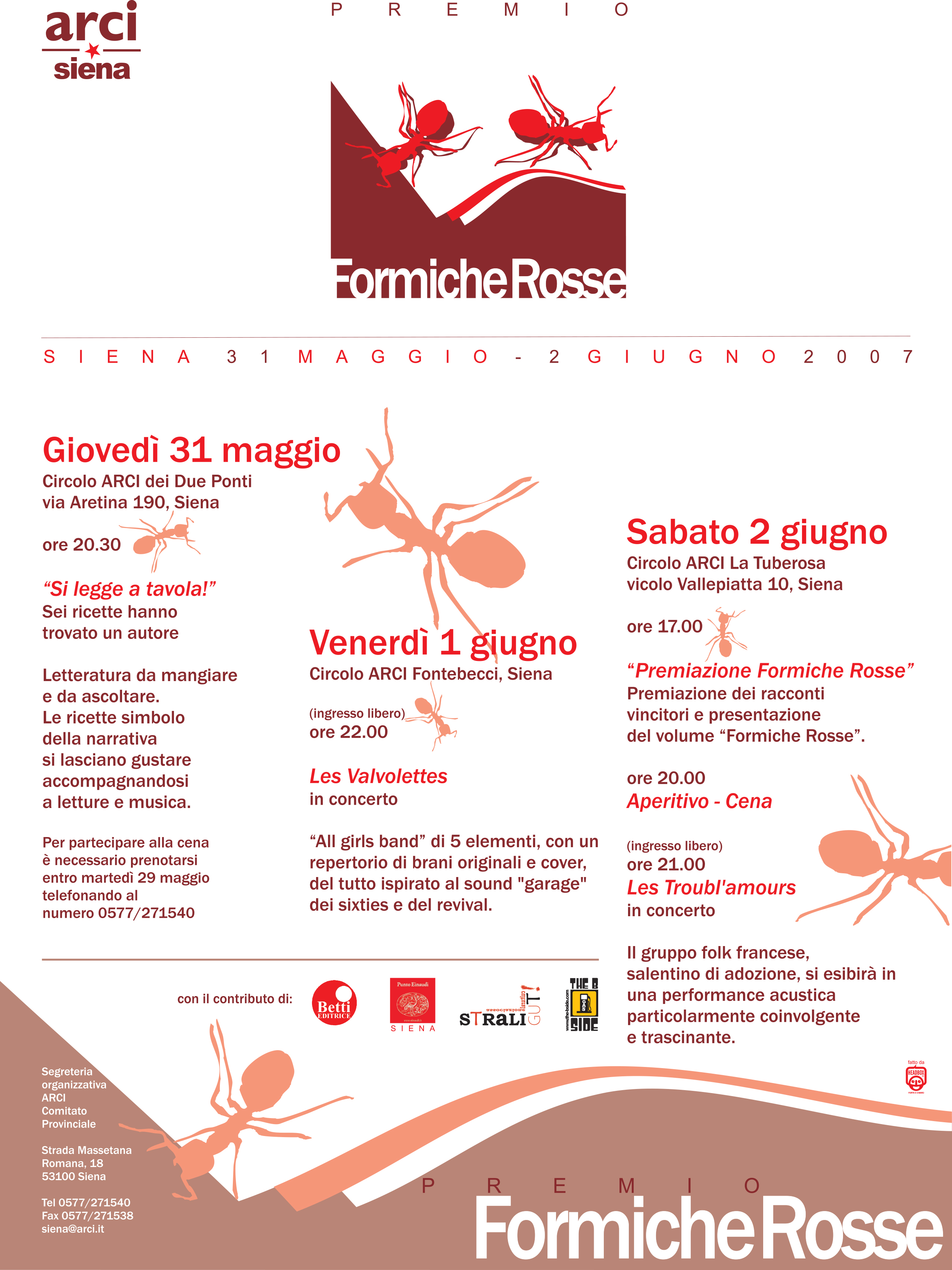 Formiche rosse exec