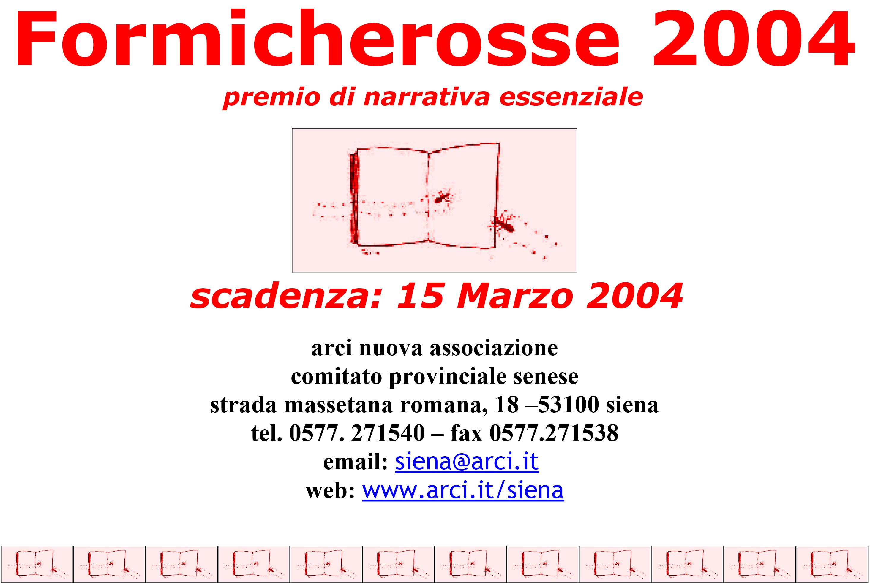 """Facsimile della scheda personale di adesione al premio """"Formic"""